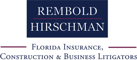 Rembold Hirschman Florida Insurance, Construction & Business Litigators Logo